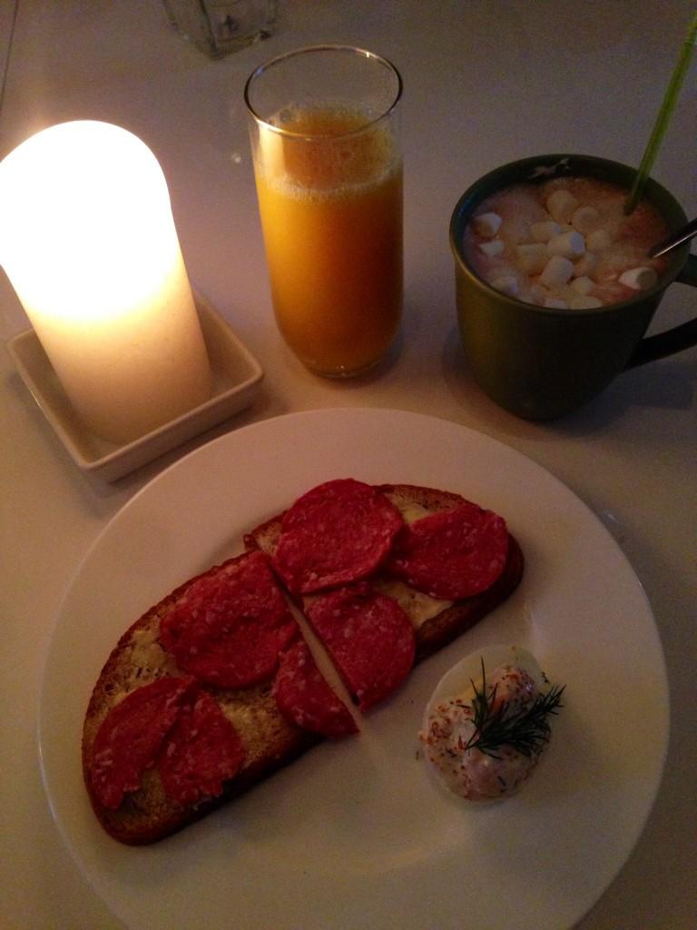 Lyx frukost