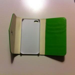 Igår fick jag ett grönt skall i brevlådan som pappa hade köpt på internätt
