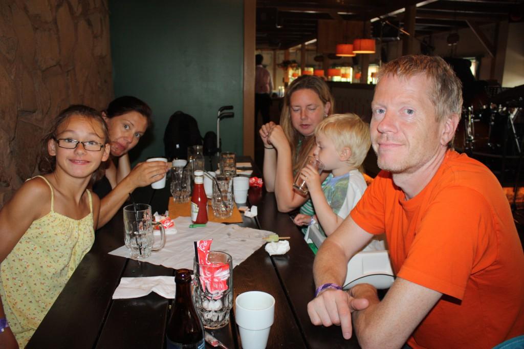 Lunch  på Pisseberg som Einar beskriver det.