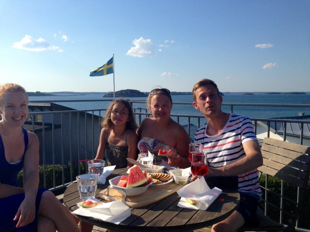Tomas, Ida, Jenny och jag
