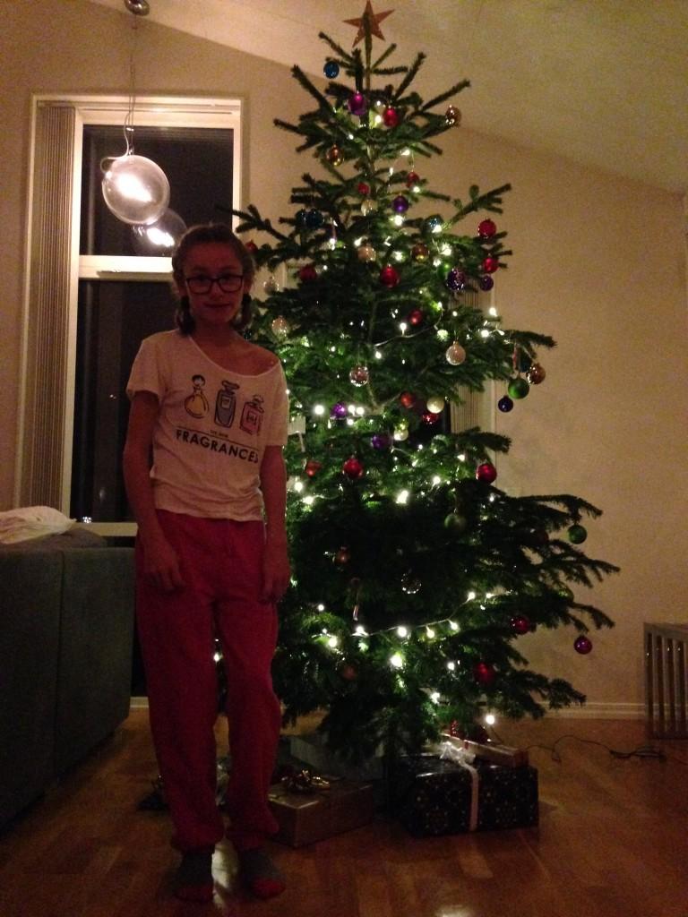 Julen hos pappa och Jenny