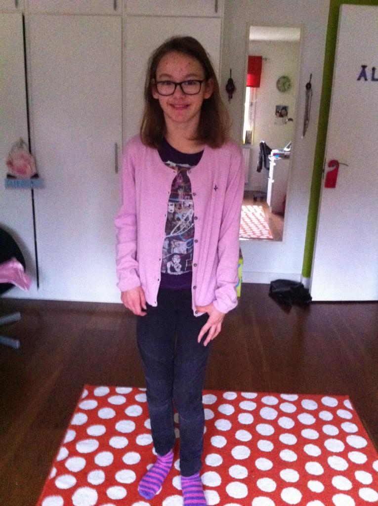 Outfiten today. Idag var vi hos Kerttu med Sisko och åt mat, det var skoj :)