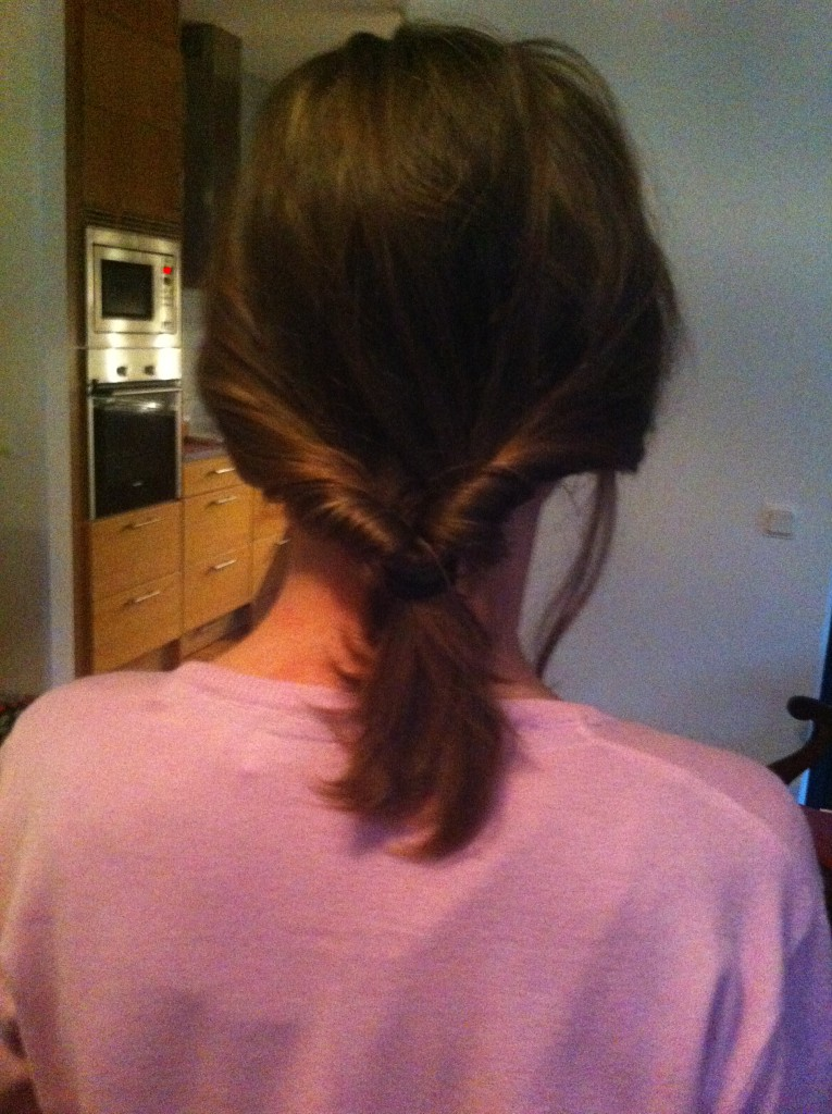 VI provade olika frisyrer. En skolfrisyr kanske ;)