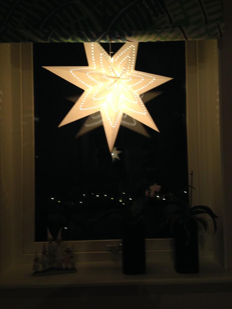 Min stora julstjärna!