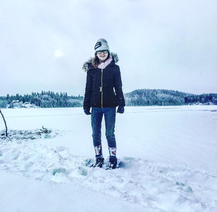 Jag på isen