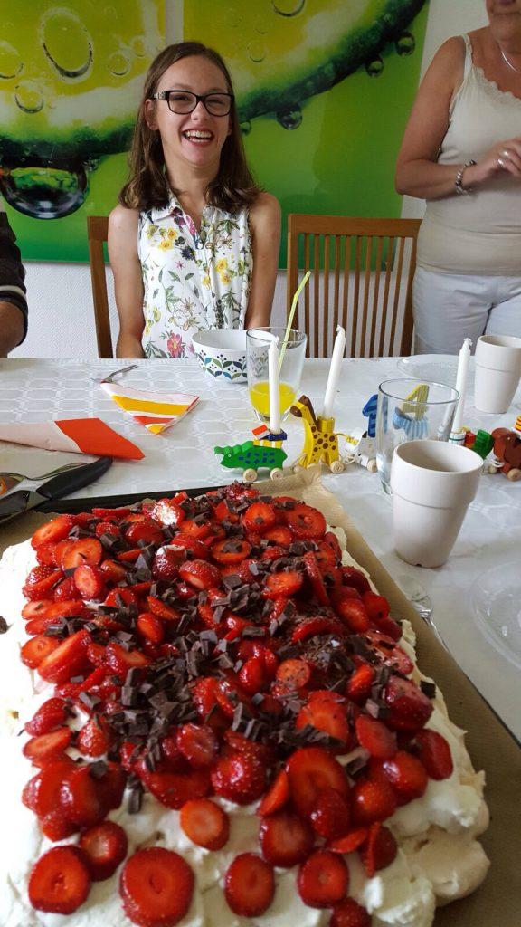 Tårta, mums! :)