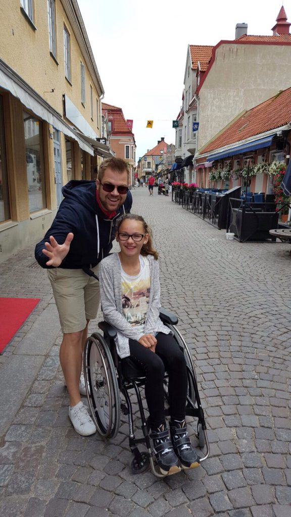 Ringmuren i Visby!