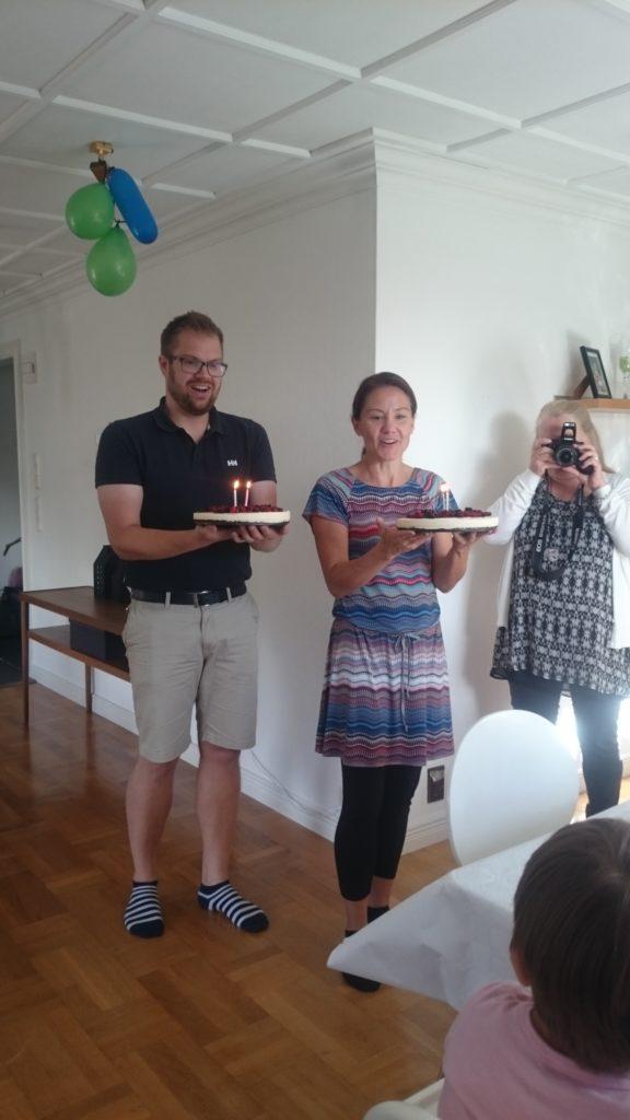 Mumsig tårta på G! :)