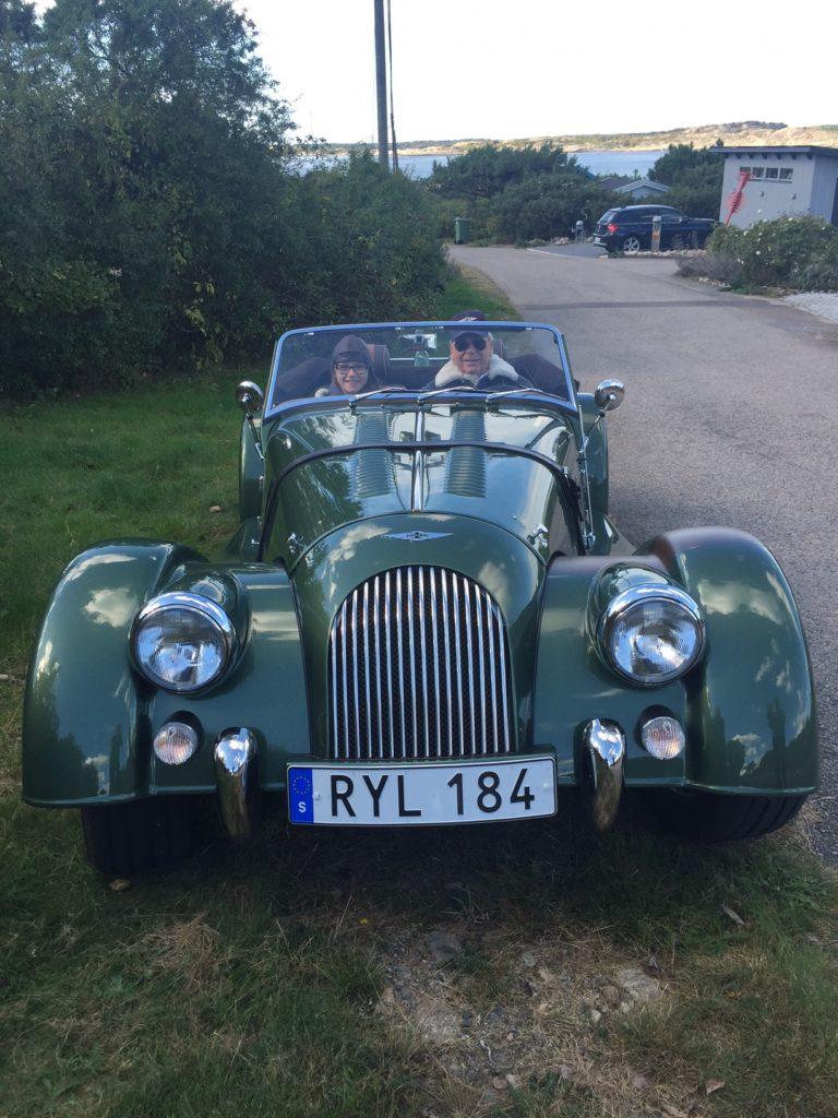 Farfars coola bil!