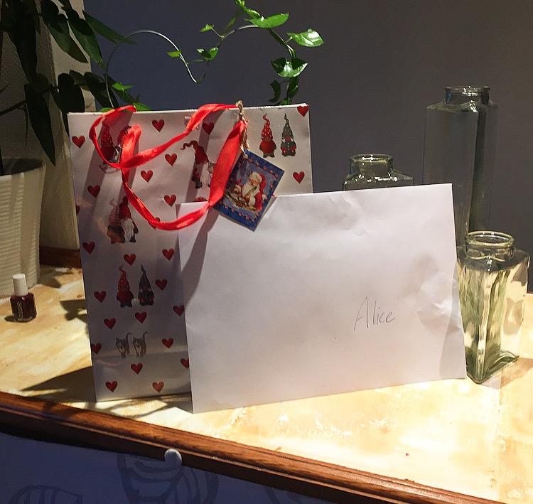 Present och betyg! :)
